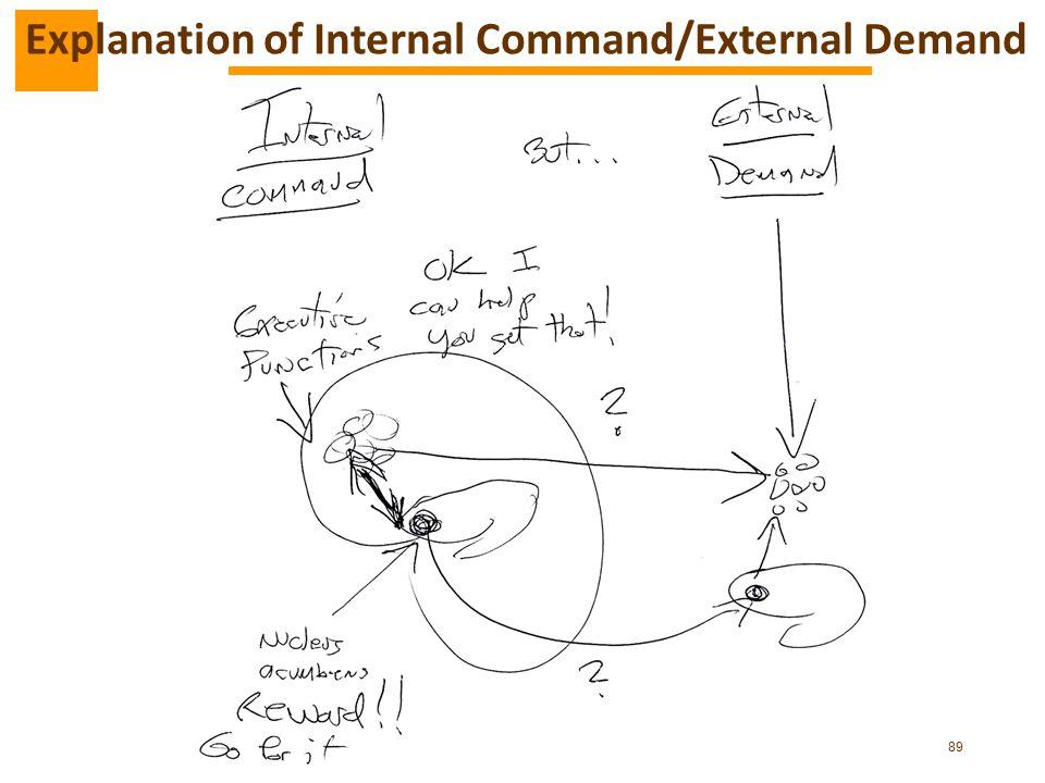 Explanation of Internal Command/External Demand