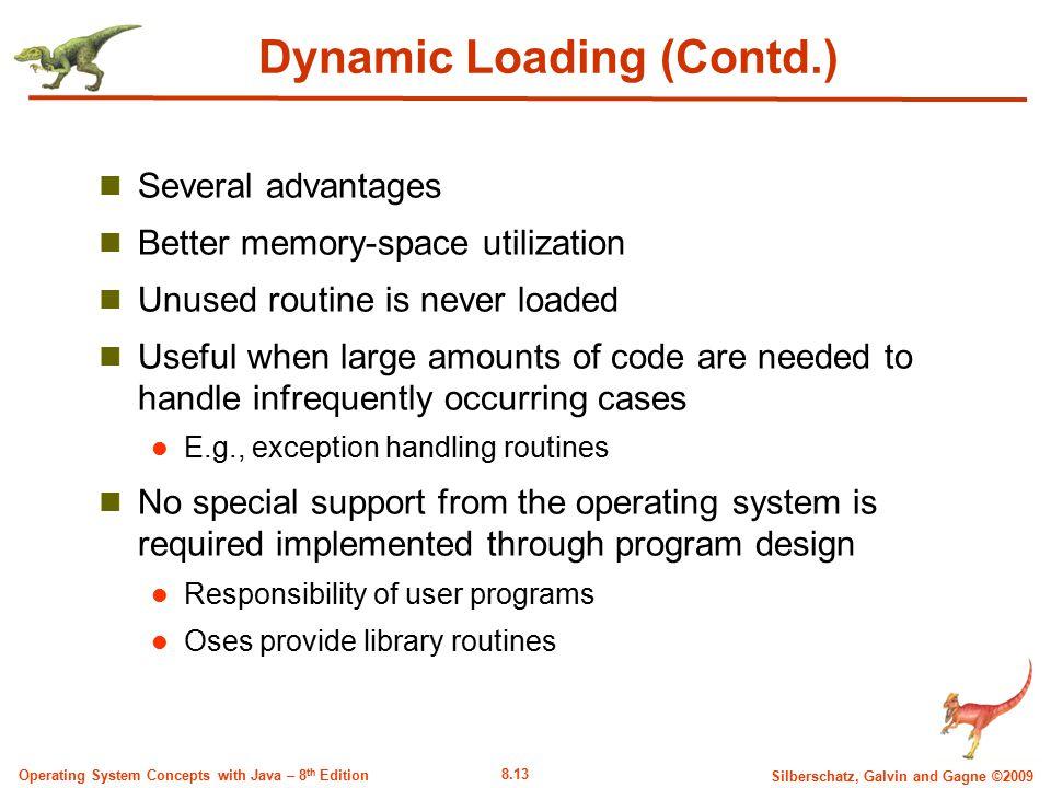 Dynamic Loading (Contd.)