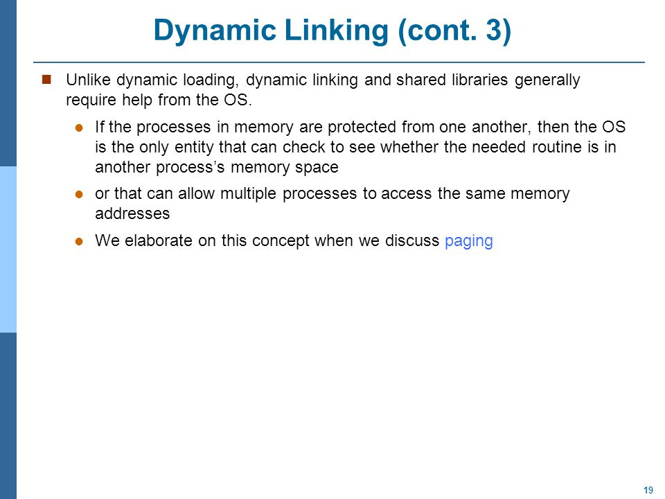 Dynamic Linking (cont. 3)