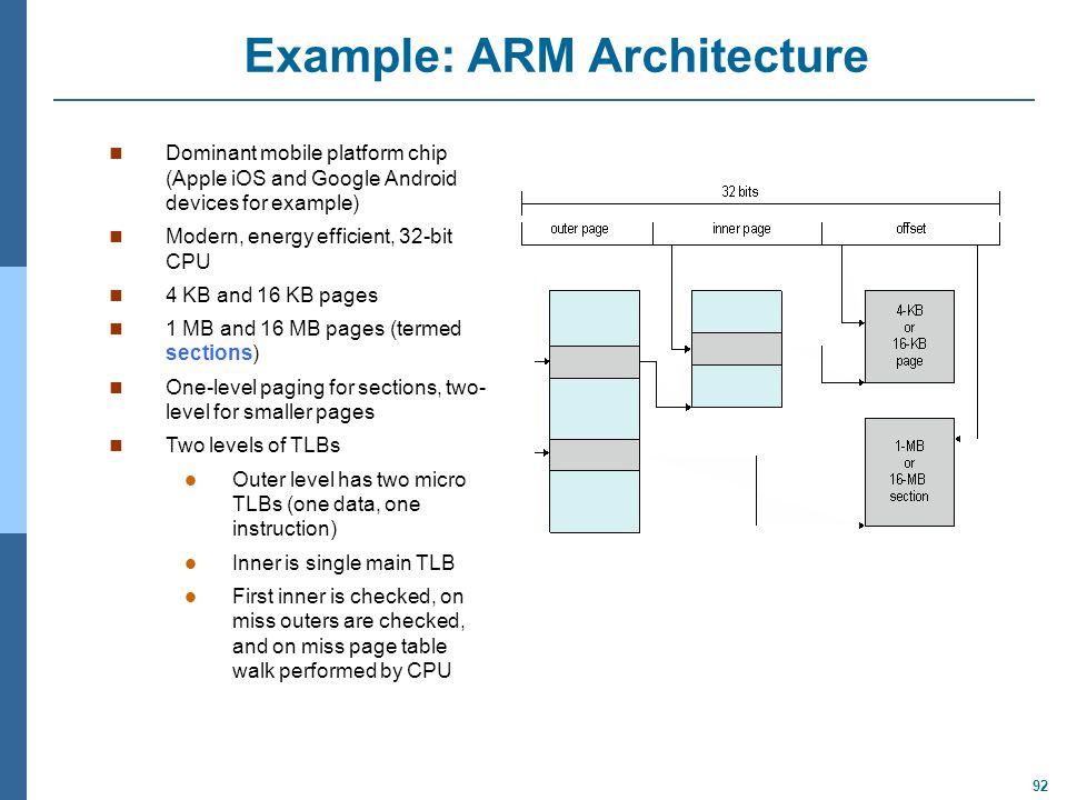 Example: ARM Architecture
