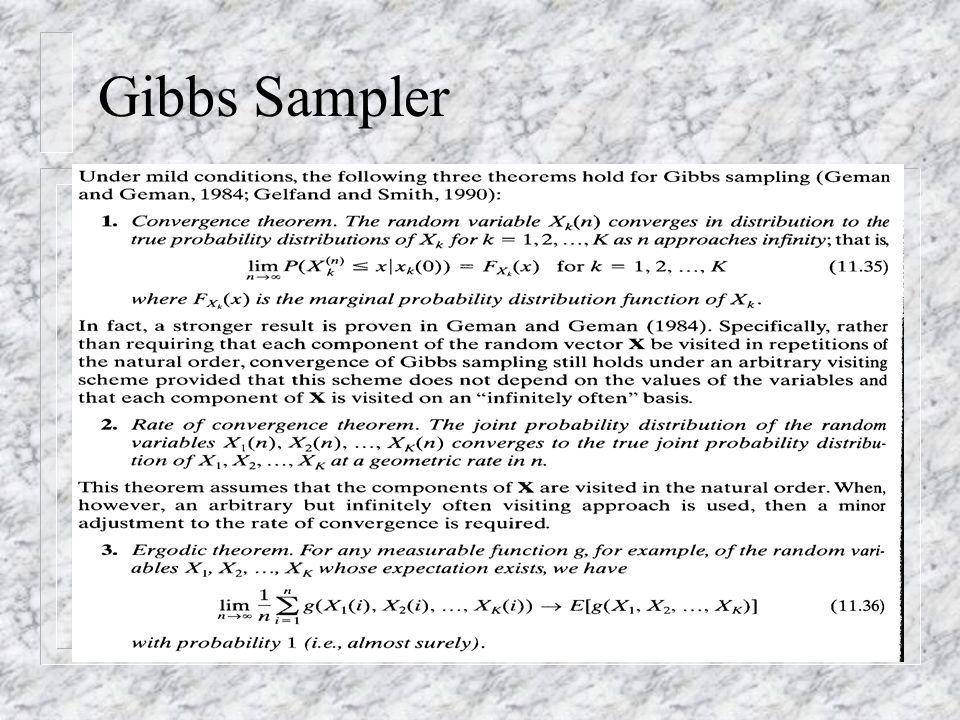 Gibbs Sampler (11.35, 11.36, 11.37)