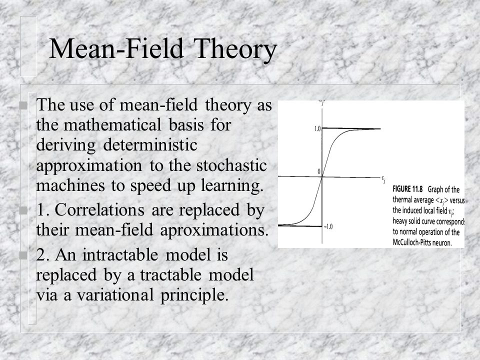 Mean-Field Theory