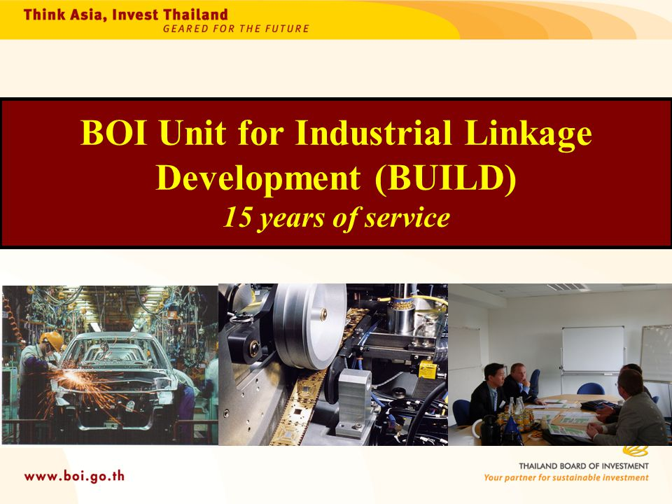 BOI Unit for Industrial Linkage Development (BUILD) 15 years of service