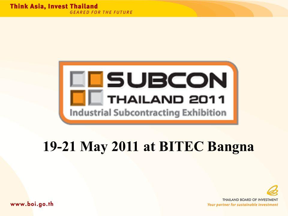 19-21 May 2011 at BITEC Bangna