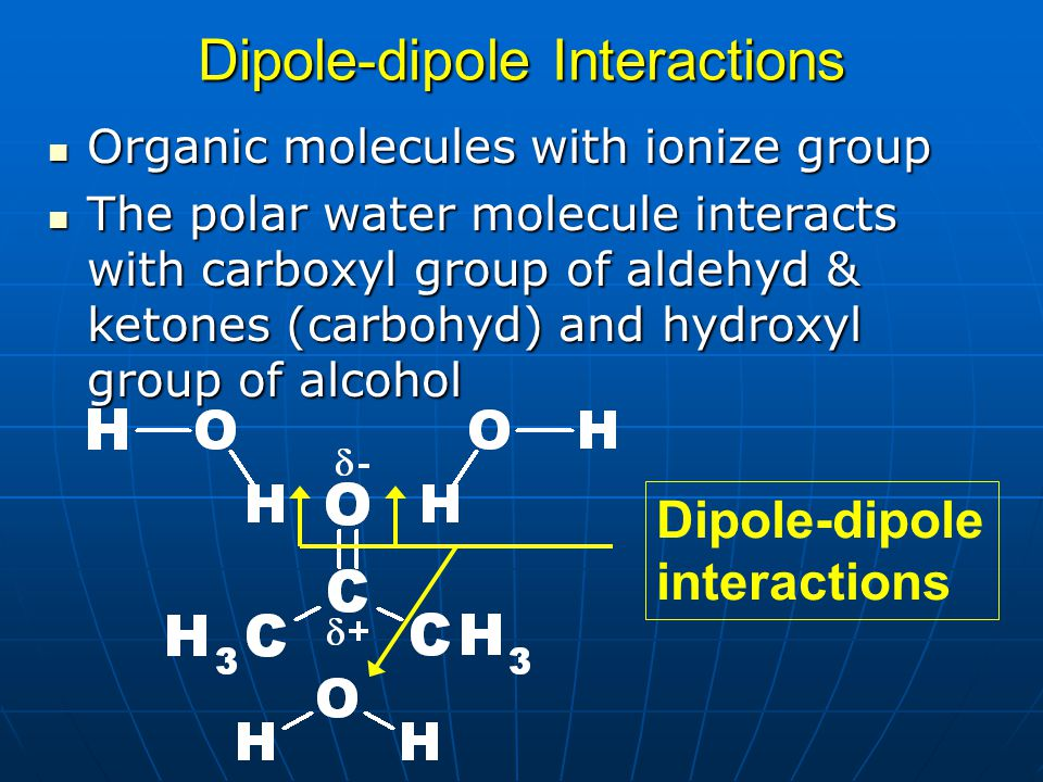 Dipole-dipole Interactions