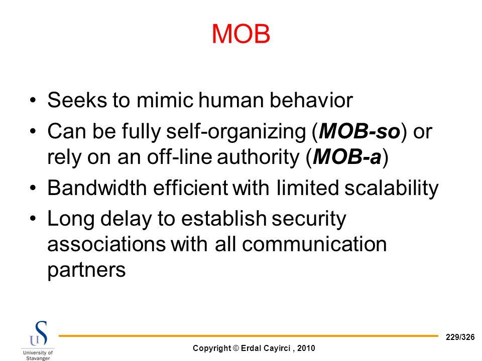 MOB Seeks to mimic human behavior