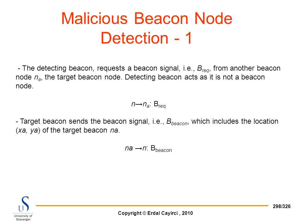 Malicious Beacon Node Detection - 1