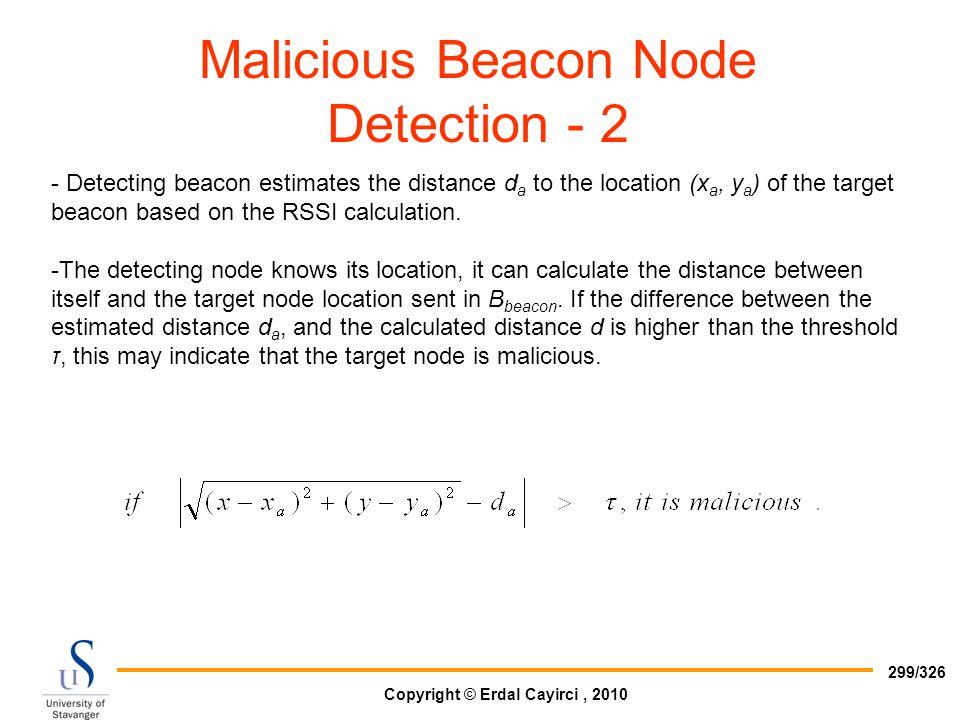 Malicious Beacon Node Detection - 2