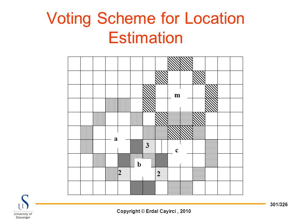 Voting Scheme for Location Estimation