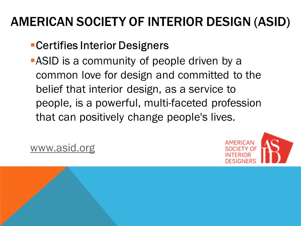 American Society of Interior Design (ASID)