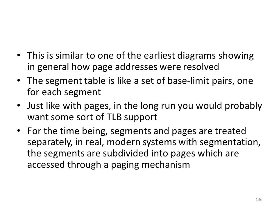 This is similar to one of the earliest diagrams showing in general how page addresses were resolved