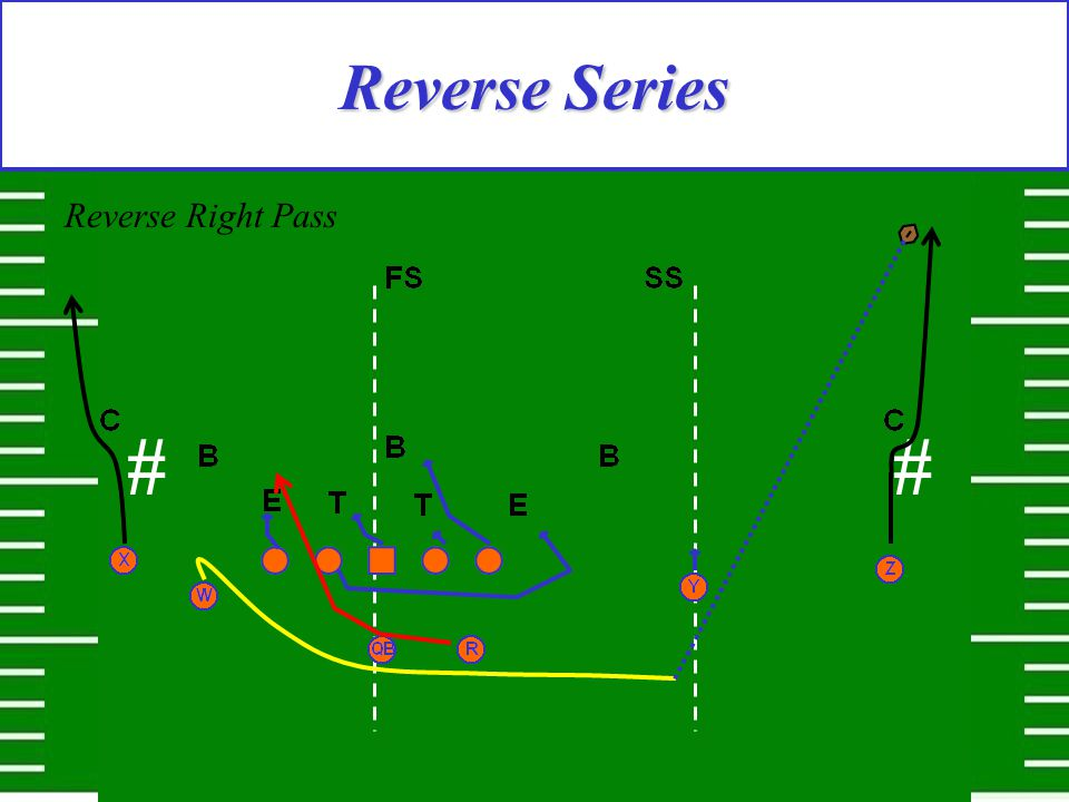 Reverse Series Reverse Right Pass #