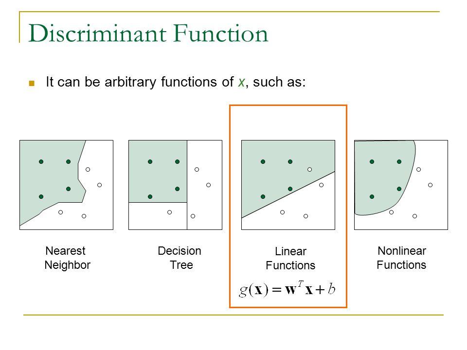 Discriminant Function