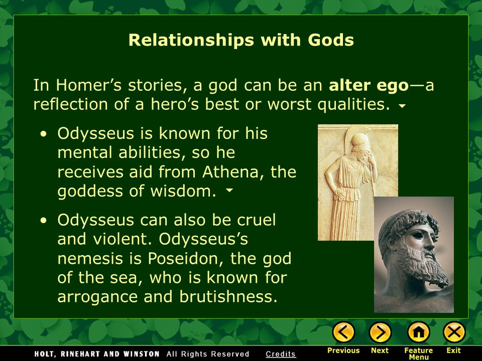 Relationships with Gods