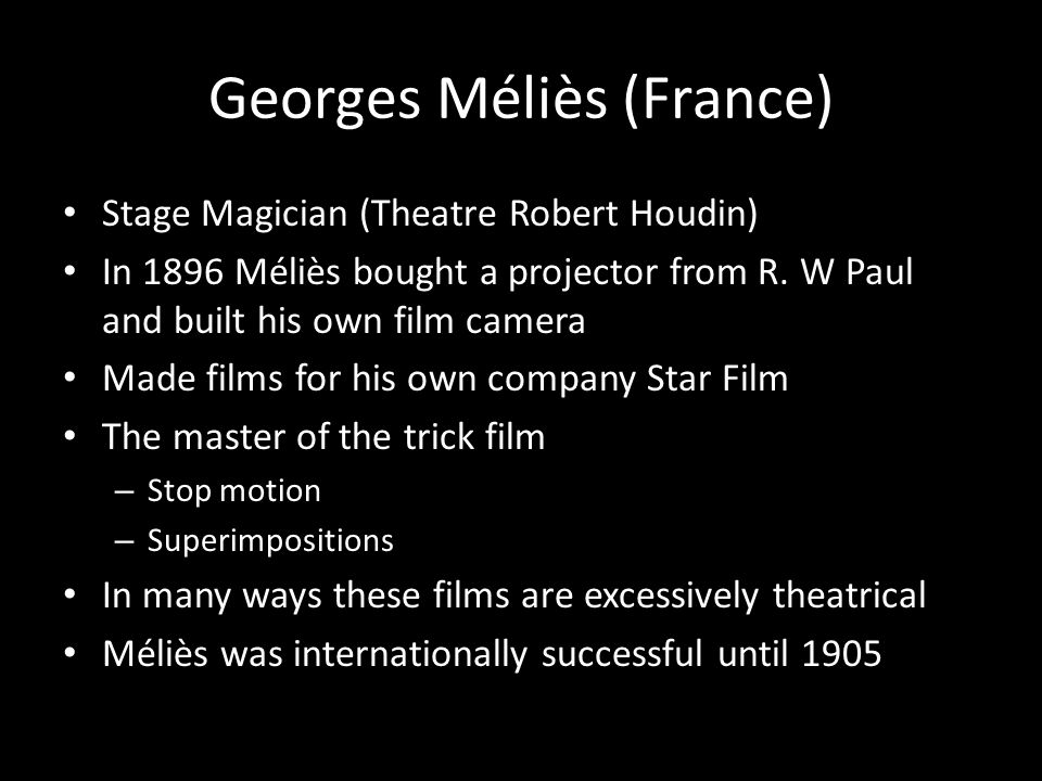 Georges Méliès (France)