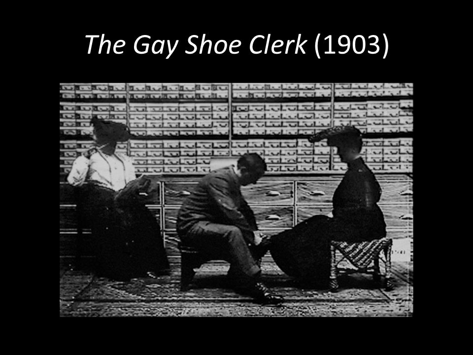 The Gay Shoe Clerk (1903)