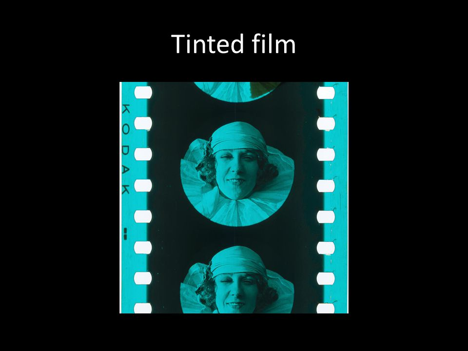 Tinted film