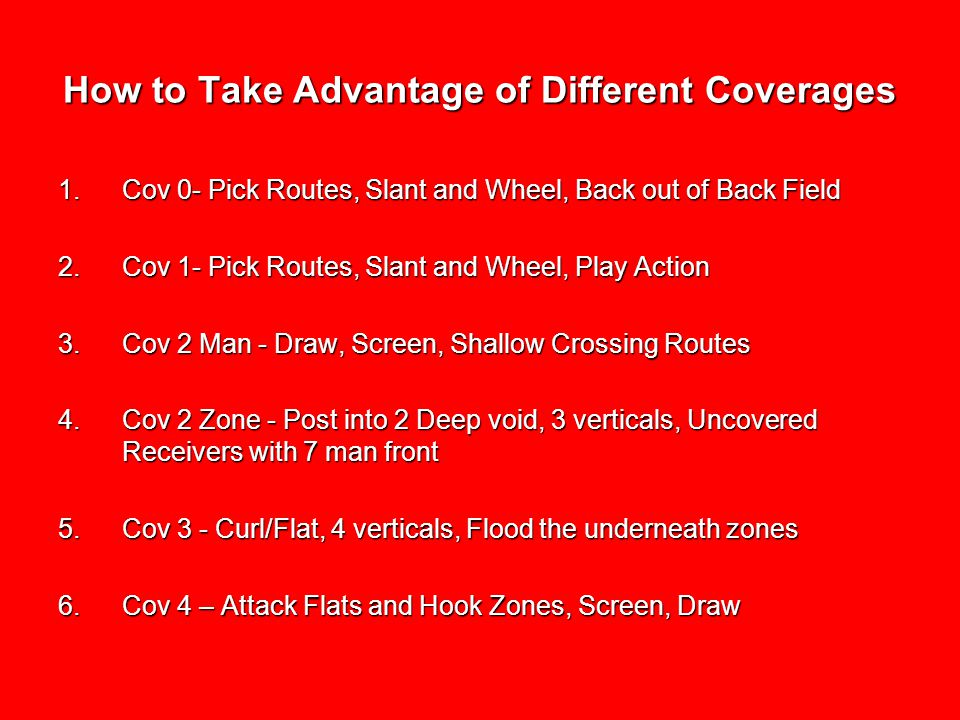 How to Take Advantage of Different Coverages