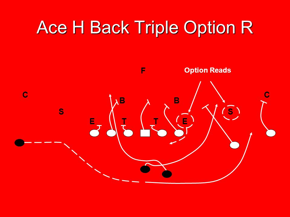 Ace H Back Triple Option R
