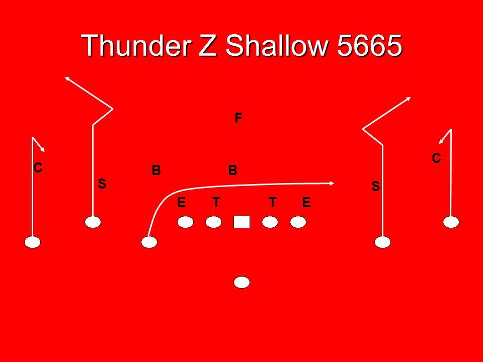 Thunder Z Shallow 5665 F C C B B S S E T T E