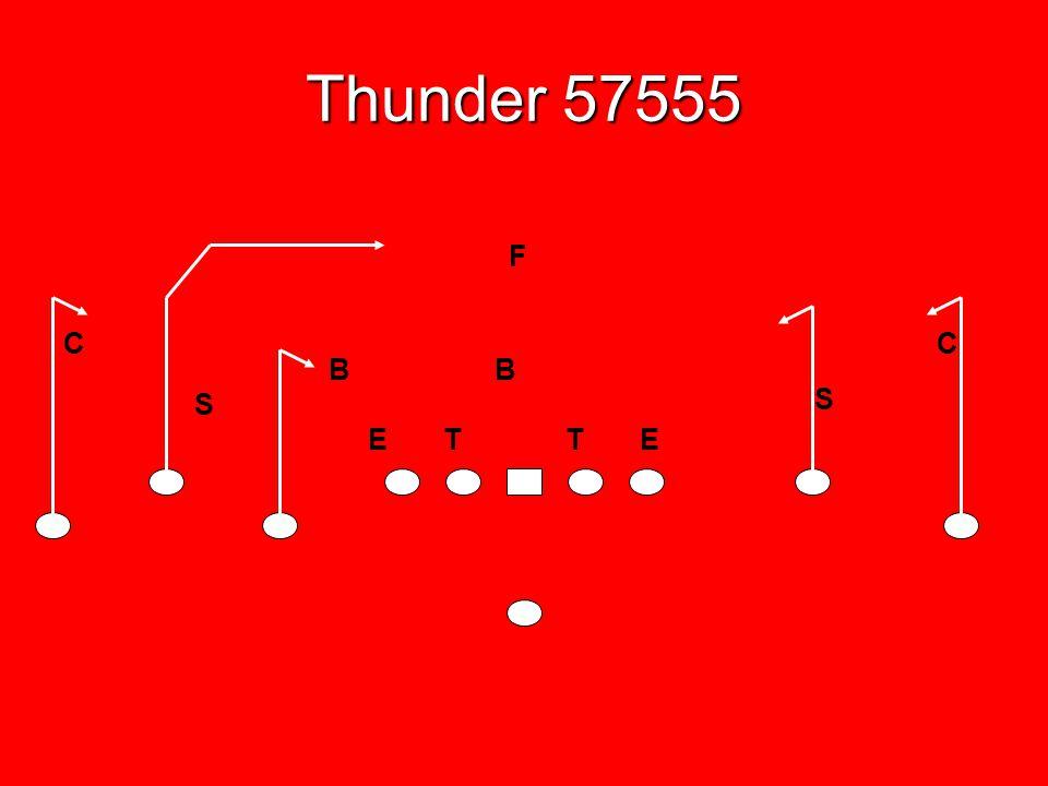 Thunder 57555 F C C B B S S E T T E