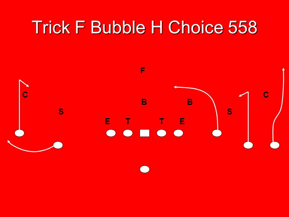 Trick F Bubble H Choice 558 E T T E B B S F C