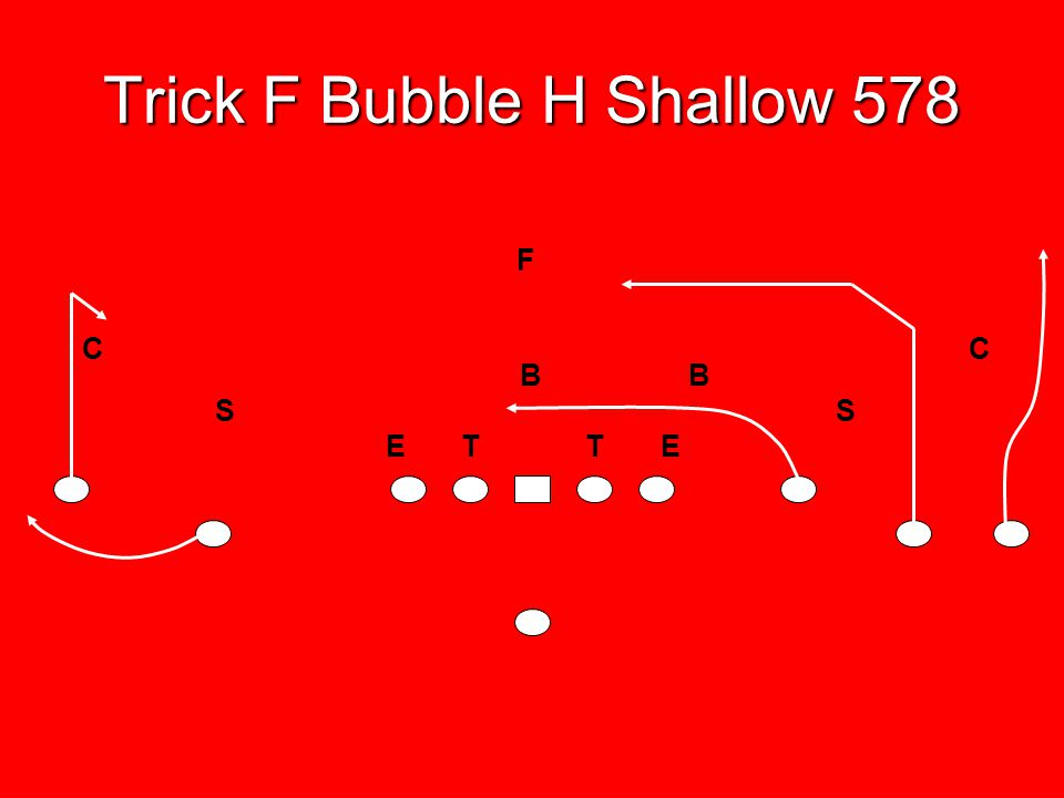 Trick F Bubble H Shallow 578