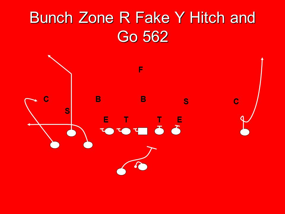 Bunch Zone R Fake Y Hitch and Go 562
