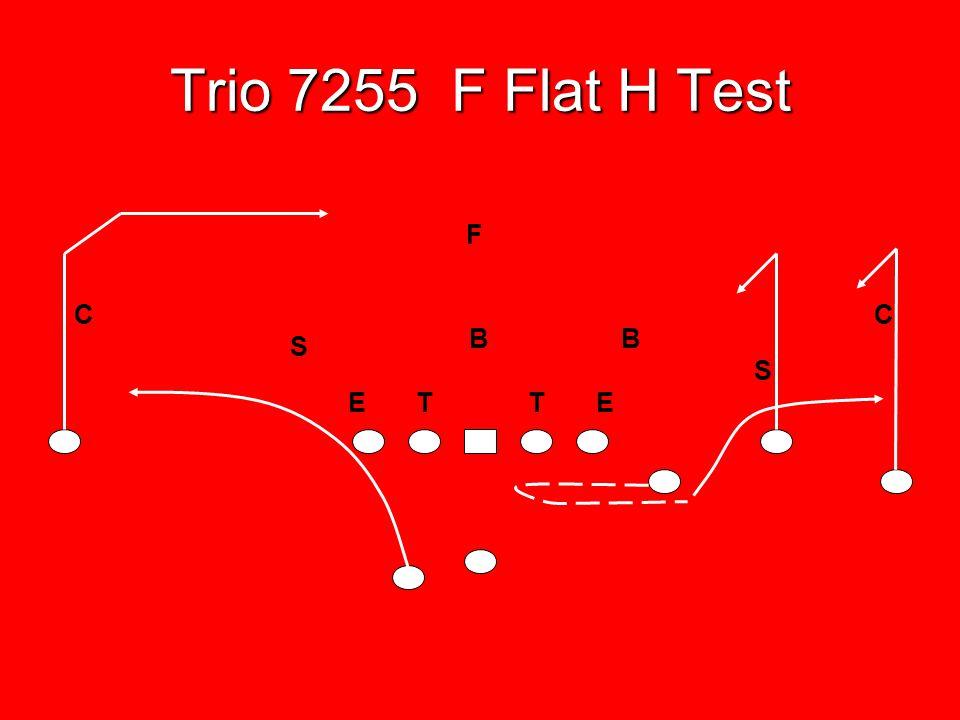 Trio 7255 F Flat H Test F C C B B S S E T T E