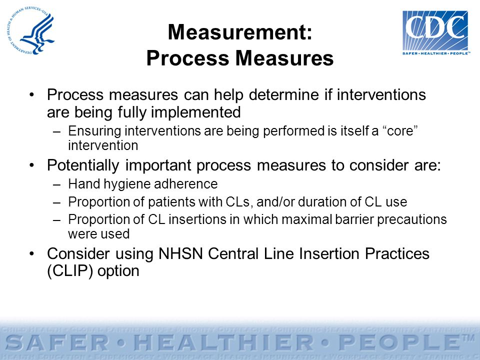 Measurement: Process Measures