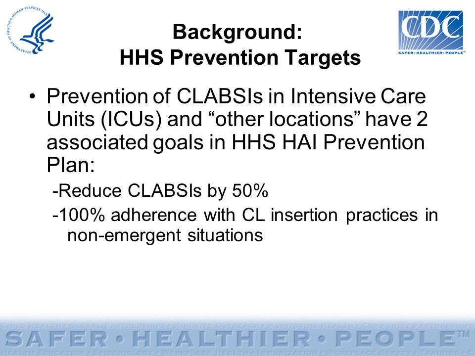 Background: HHS Prevention Targets