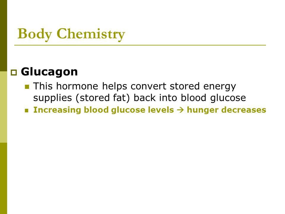 Body Chemistry Glucagon
