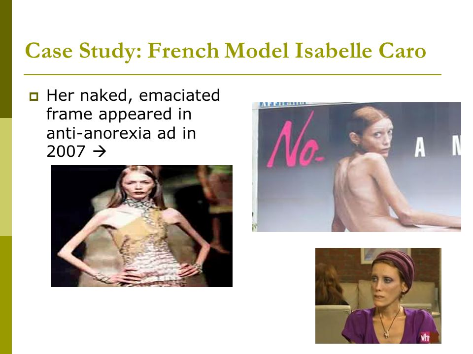 Case Study: French Model Isabelle Caro