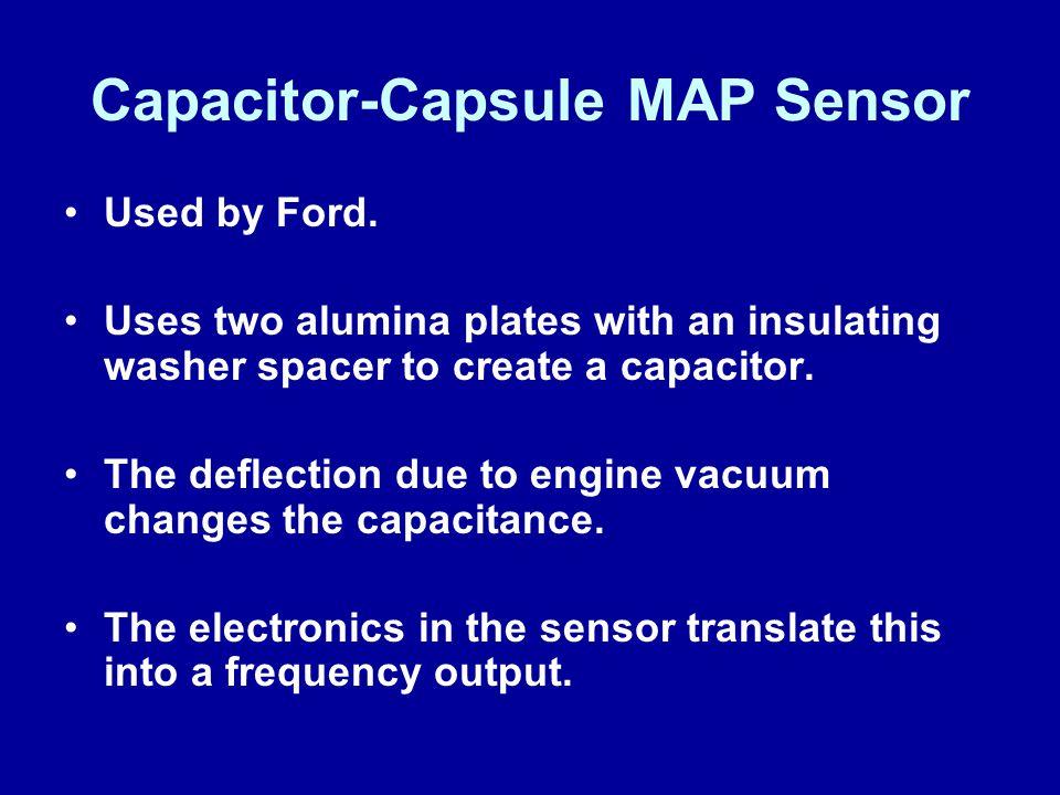 Capacitor-Capsule MAP Sensor