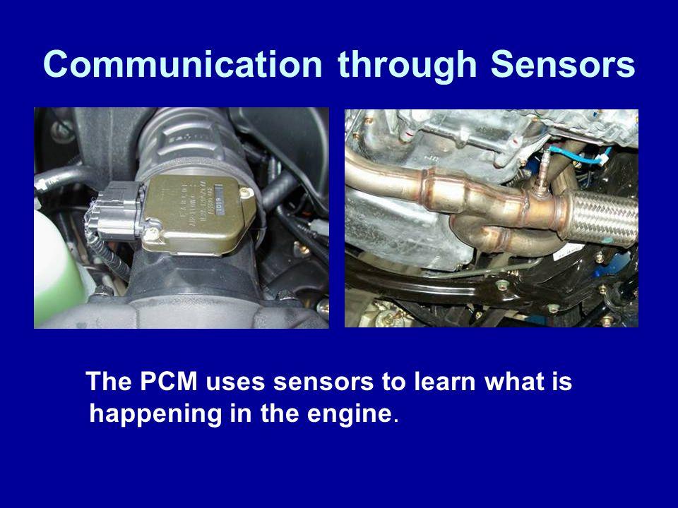 Communication through Sensors