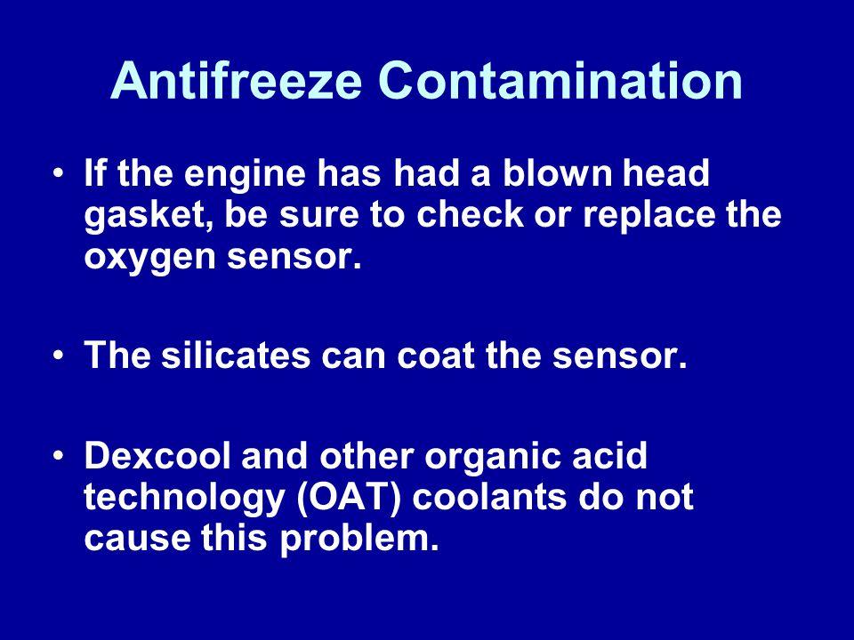 Antifreeze Contamination