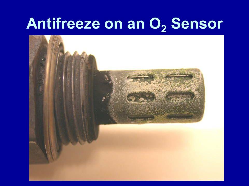 Antifreeze on an O2 Sensor