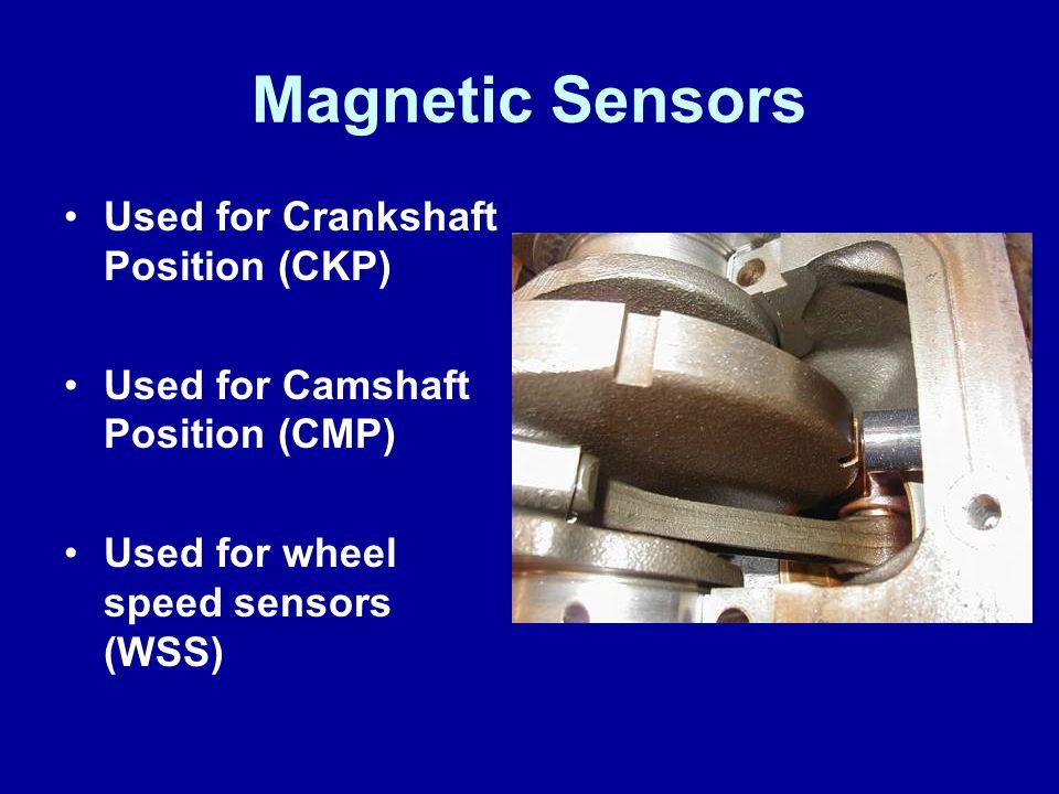 Magnetic Sensors Used for Crankshaft Position (CKP)