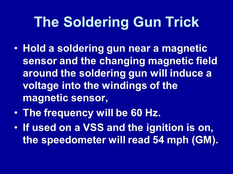 The Soldering Gun Trick