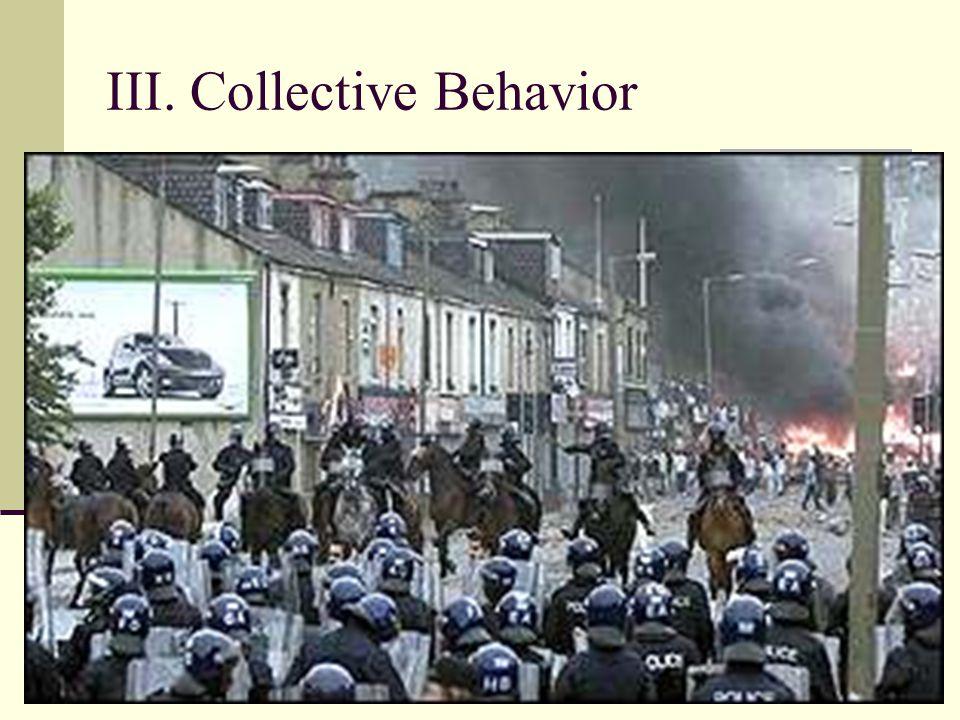 III. Collective Behavior