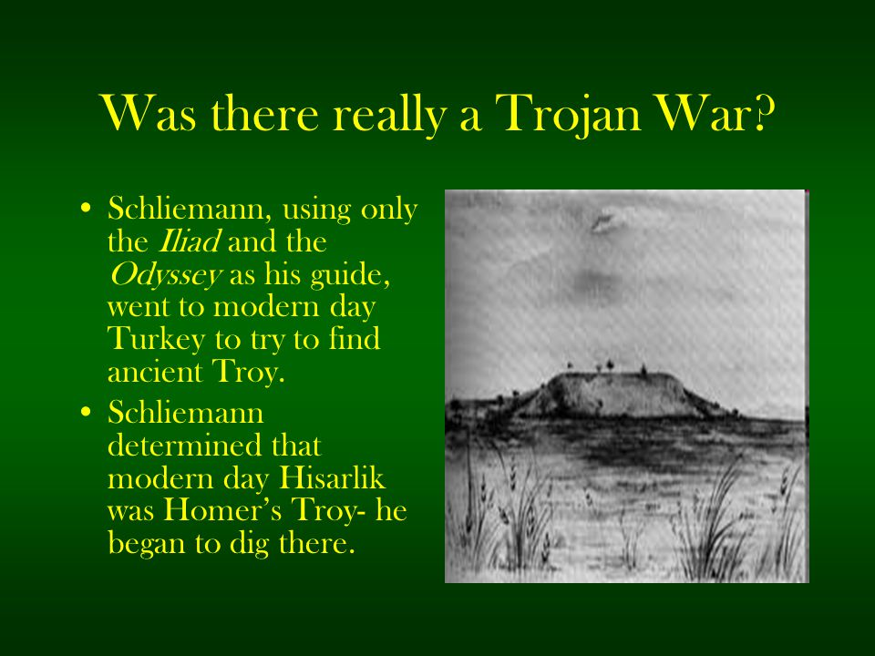 Was there really a Trojan War