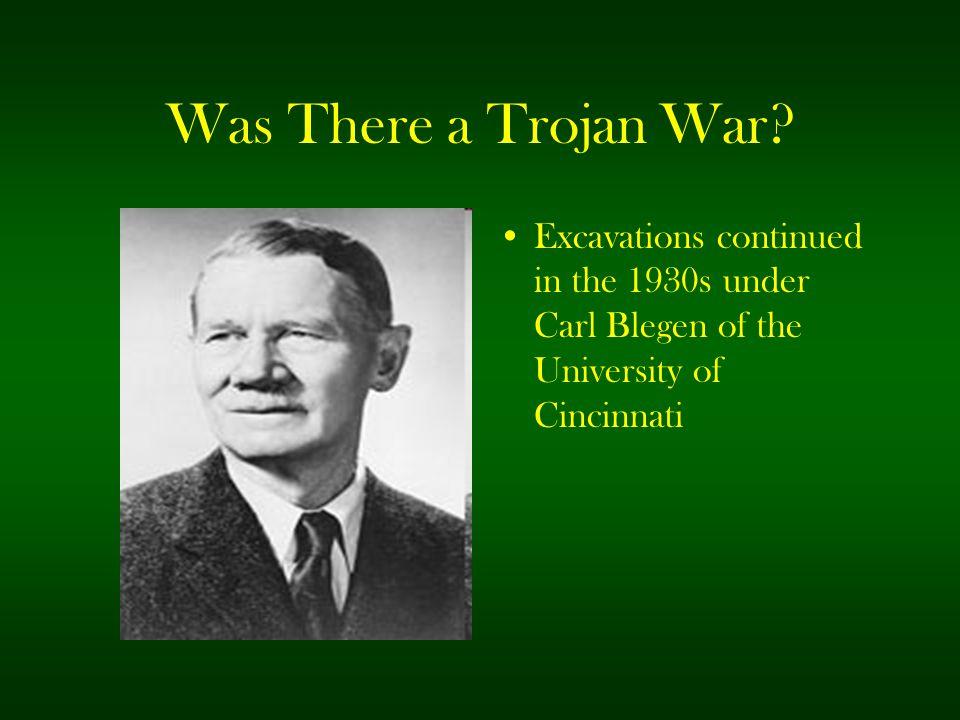 Was There a Trojan War.