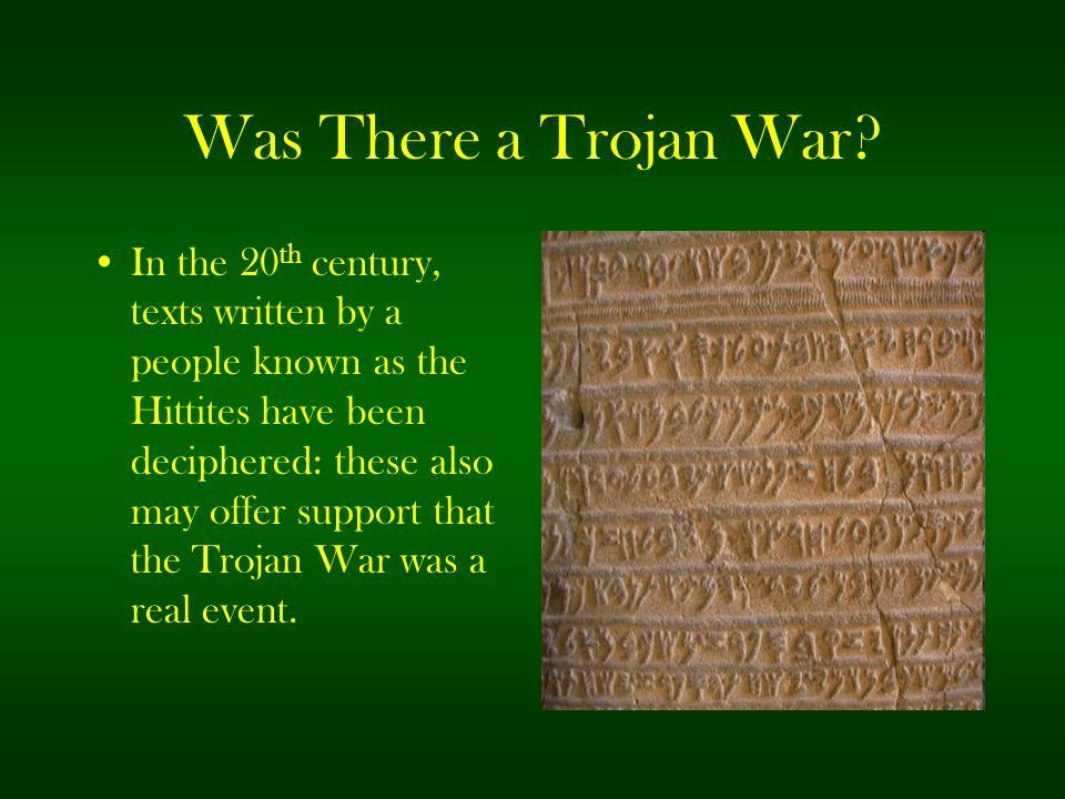 Was There a Trojan War
