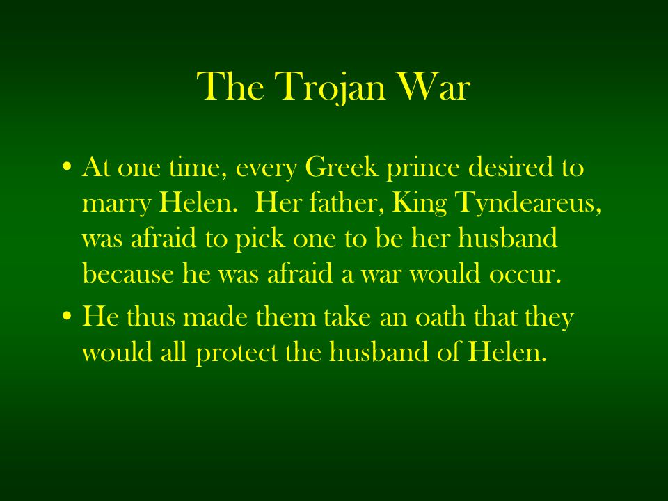did the famous trojan war actually I'm talking about the famous trojan horse incident did some really escape the city, as the movie claims if so, where did they go and did.