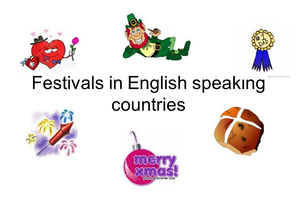 Festivals in English speaking countries