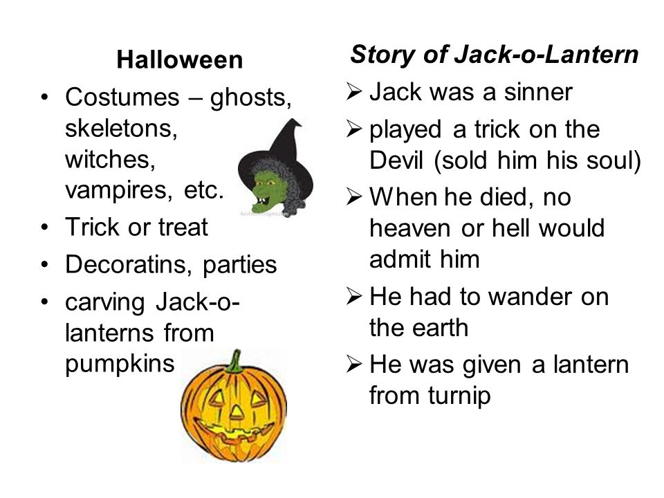 Story of Jack-o-Lantern