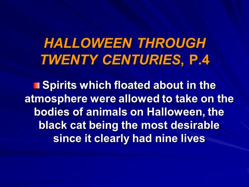 HALLOWEEN THROUGH TWENTY CENTURIES, P.4