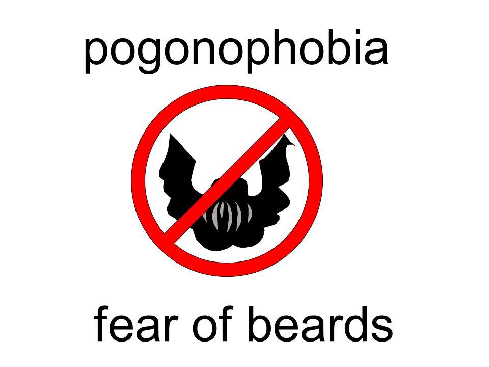 pogonophobia fear of beards