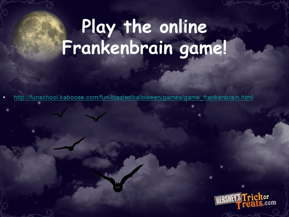 Play the online Frankenbrain game!