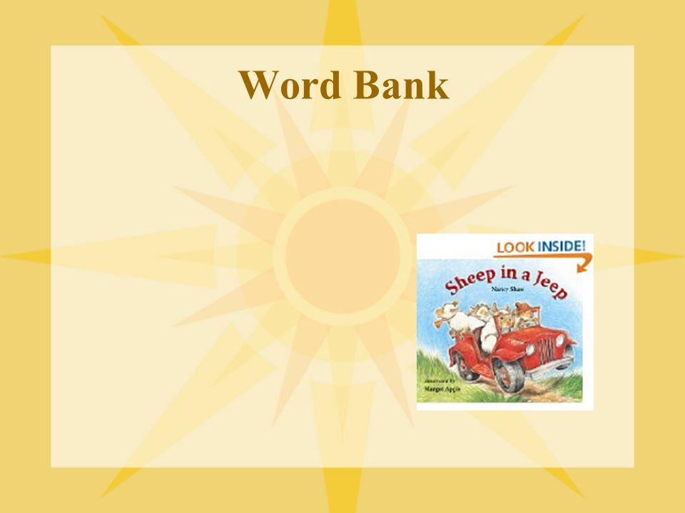 Word Bank Add: zoomer, knot, push, pull, force